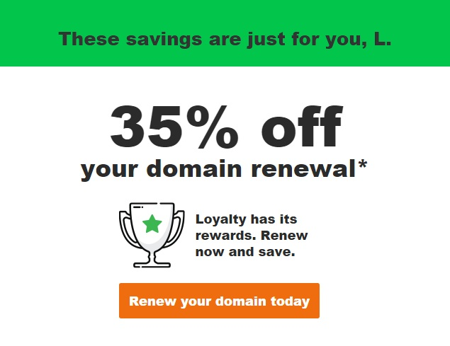 Godaddy hosting renewal coupon july 2018